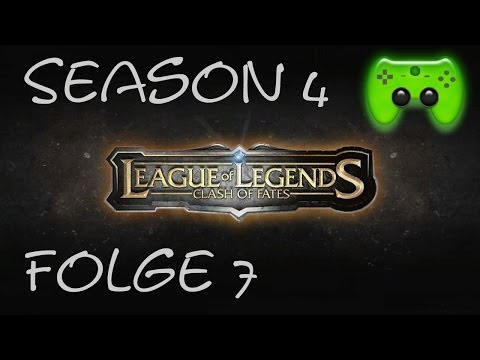 LEAGUE OF LEGENDS # 7 - Season 4 Ranked 7/10 «» Let's Play League of Legends | HD