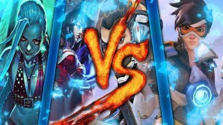 Download Lagu LEAGUE OF LEGENDS Vs. OVERWATCH | MACRO RAP | BTH GAMES Ft. VARIOS ARTISTAS - 2017 Mp3