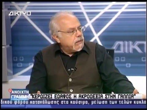 Τρεμόπουλος για ισλαμιστές και ακροδεξιά