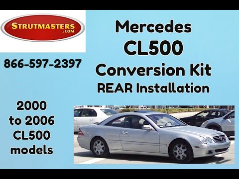 Suspension Mercedes | 1999-2006 Mercedes CL 500 (Rear Install Video)