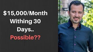 Video How can you make $15,000 to $20,000 per month and replace your income? MP3, 3GP, MP4, WEBM, AVI, FLV Oktober 2018