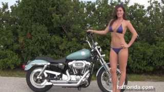 9. Used 2008 Harley Davidson Sportster 1200 Custom Motorcycle for sale