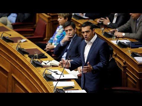 Τσίπρας: Θλιβερό φερέφωνο Σαμαρά ο Μητσοτάκης