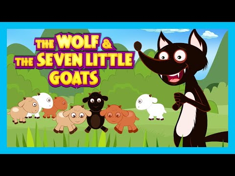 The Wolf and The Seven Little Goats Story   Animated Stories For Kids - Full Story By Kids Hut
