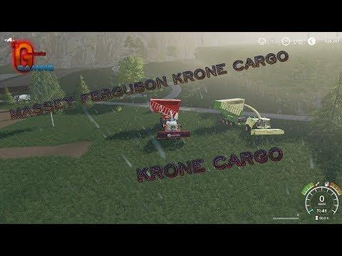 FS19 Massey Ferguson Krone Cargo v1.0.0.1