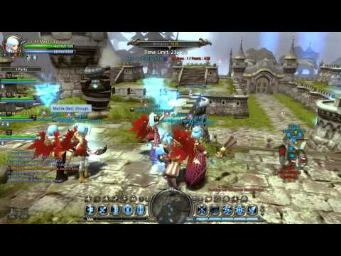 Dragon Nest - [Guild PvP] Legit vs. Gergenta