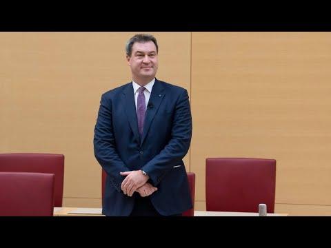 Bayerischer Landtag bestätigt Söder als Ministerpr ...