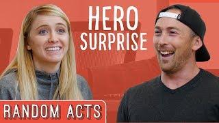 Video Hero Surprise Prank - Random Acts MP3, 3GP, MP4, WEBM, AVI, FLV Desember 2018
