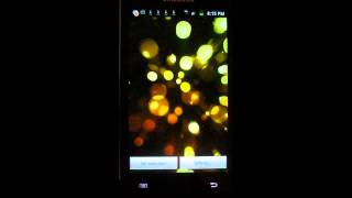 Bubbles Live Wallpaper YouTube video