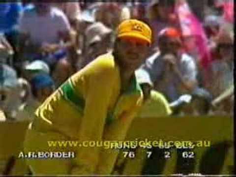 AUSTRALIA vs SRI LANKA, 1984/1985 WSC G13