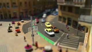 A Tilt-Shift video I did as my license exam.I filmed at least 60 clips around Timisoara.Unfortunately I could not get on some buildings to film :( They are either close or hard to get access on top.Music: Thomas Dvorak (Soundtrack from Machinarium)