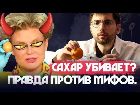САХАР. Полный ЛИКБЕЗ. Сахарофобия. Демонизаторы сахара - DomaVideo.Ru