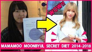 MAMAMOO Moonbyul Secret Diet 2014-2018 | The Korean Idol Diet