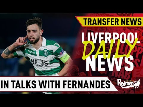 Liverpool In Talks With Bruno Fernandes' Agent? | #LFC Daily Transfer News LIVE