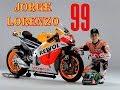 Jorge Lorenzo dirumorkan akan pindah ke Repsol Honda musim depan