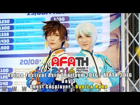 AFATH 2016 | Day 2: Baozi & Hana on Akiba Stage