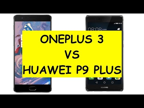 OnePlus 3 vs Huawei P9 Plus ITA
