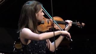 Luna van Leeuwen (viool) - Nationale Finale Prinses Christina Concours 2017
