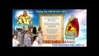 Tứ Liệu Giảng (Lời dạy Vĩnh Minh Diên Thọ Thiền Sư)-TT Thích Giác Hóa