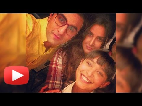 Ranbir Kapoor And Katrina Kaif FIRST EVER SELFIE A