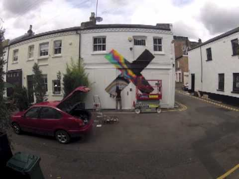 youngturksrecords - In August 2012 our friends at High Rise painted the artwork from The xx's new album Coexist onto the side of the XL Recordings / Young Turks office in west L...