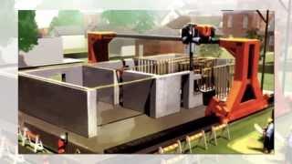 Эра автоматического строительства 3D принтер