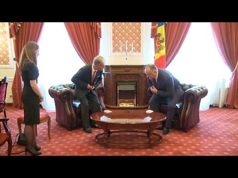 Moldovan president has farewell meeting with non-resident ambassador of Montenegro