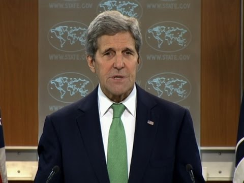 Kerry Finds Islamic State Group Commits Genocide