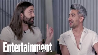Which 'Queer Eye' Guy Got Hugged So Hard He Got Hurt? | Entertainment Weekly