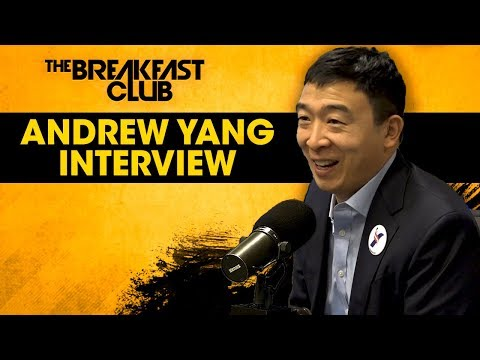 Andrew Yang Talks Universal Basic Income, Benefitting From Tech, His Run For President M… видео