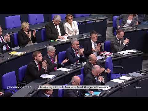 Aktuelle Stunde im Bundestag zu Venezuela am 30.01.19,  ...