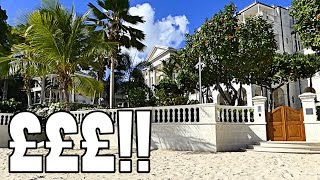 Today, we took off in search for some beautiful villas, luxury shops and nice cars...Sandy Lane is known on the Island as...