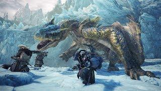 Monster Hunter World Iceborne: Tigrex Boss Fight