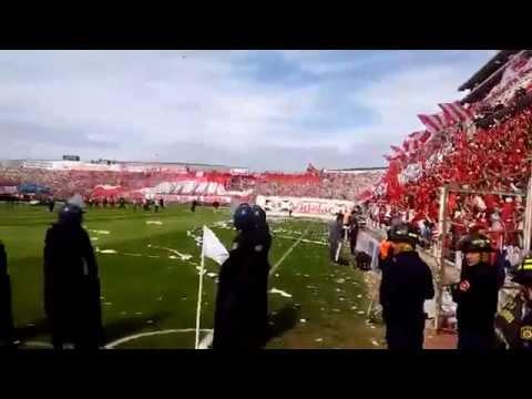 RECIBIMIENTO TATENGUE |  Unión 0-0 Colón 2015 Fecha 27 - La Barra de la Bomba - Unión de Santa Fe