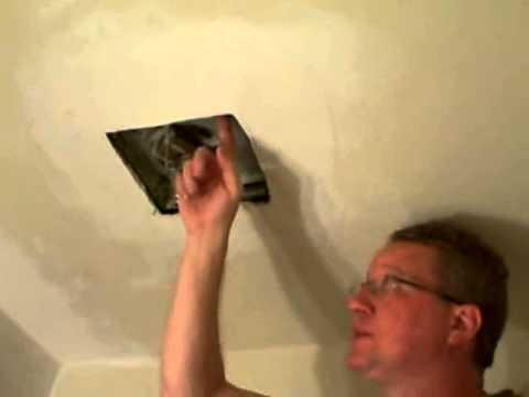 Replace a Bathroom Fan