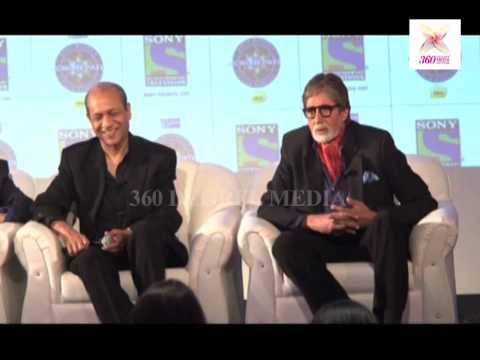 A Reporter Is Asking A Funny Question To The Amitabh Bachchan-at Launche Of Kbc