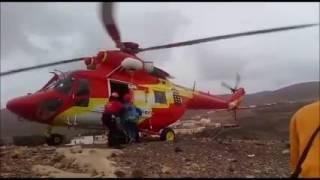 Rescate Fuerteventura. La mejor flota de España con máquinas fabricadas en 2015
