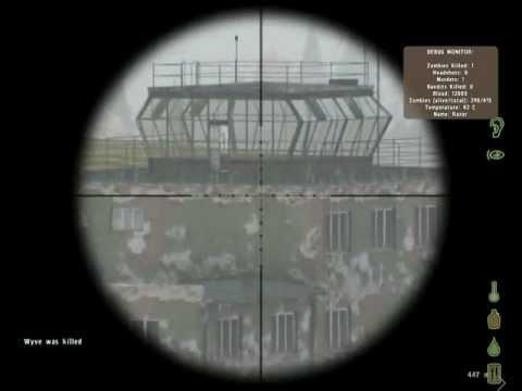 AS50 - Стрельба с AS50, попадание в кабину автобуса на 700 метров, и еще несколько убийств на Airstrip возле Красностава ,500 метров от ангаров :) Не...