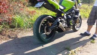 3. Triumph Street Triple 675 - Sound of HP Corse Hydroform