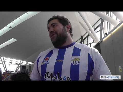 Borja Vivas campeón de España de lanzamiento de peso