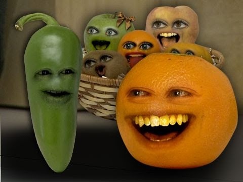 realannoyingorange - Orange gets a lesson from the hottest pepper alive: Jalapeño RETWEET: http://bit.ly/g8mN3M FREE version of my video game Kitchen Carnage: iTunes: http://bit....