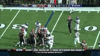 Tanner Brock vs Utah 2010 vs  (2010)