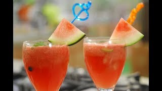 Watermelon Lemonade | Cook Smart | Sanjeev Kapoor Khazana