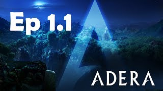 Adera Playthrough | Episode 1 (Part1) ► Ice? Seaweed? In The Desert?