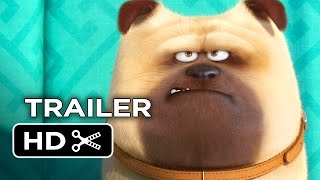 Nonton The Secret Life Of Pets Official Teaser Trailer  1  2016    Jenny Slate  Kevin Hart Movie Hd Film Subtitle Indonesia Streaming Movie Download