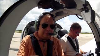 Cirrus SR22 Plane Ride From KOPF To KOBE And Back (recording ATC And Intercom)