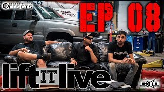 "Catch the highlights of ""Lift it Live"" with Brad, Banker, and Fuller from August 3rd's live stream. Shop lift kits at customoffsets.com/liftsDon't miss out this week, and remember to come out to our Facebook page at 6pm CST for our live stream. Come prepared with your lift kit questions and we will answer them on the show! www.facebook.com/customoffsets"