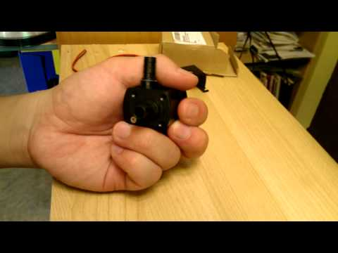 Mini 12V DC Brushless Submersible Water Pump Review and Disassembly