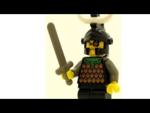 Video YouTube post on the Castle Minifig Knights Kingdom I Gilbert