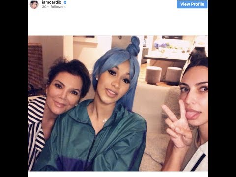 Bardi Gang Warns Cardi B about hanging out with the Kardashians~ 'I'm A Part Of The Rich Club!""